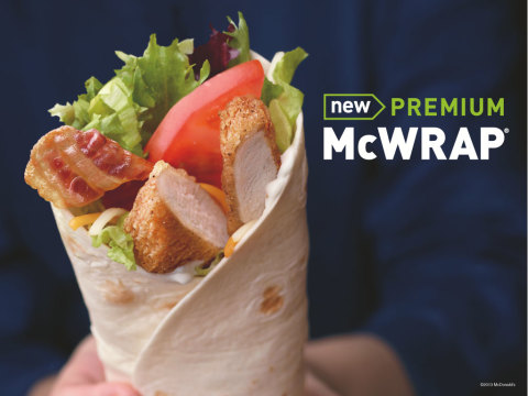"McDonald's Premium McWrap ""Tastes Like Never Before"""
