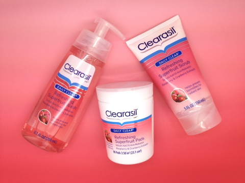 "Clearasil Superfruit ""Results"""
