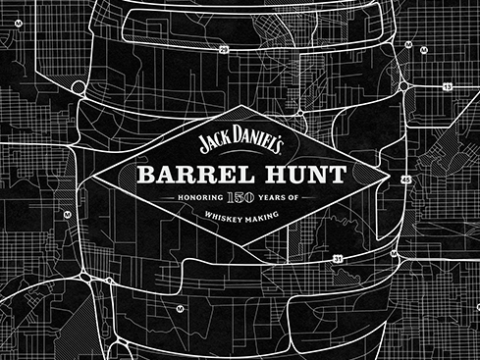 "Jack Daniels – ""Barrel Hunt"""